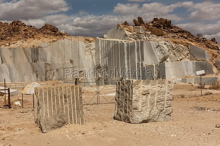 marble quarry in the south of