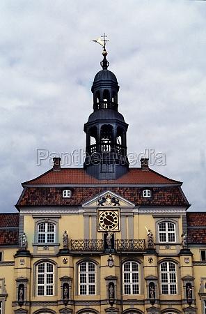 town hall of lueneburg