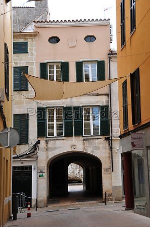 alley in the old town of