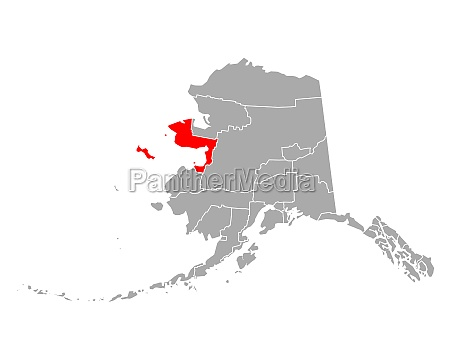 map of nome in alaska
