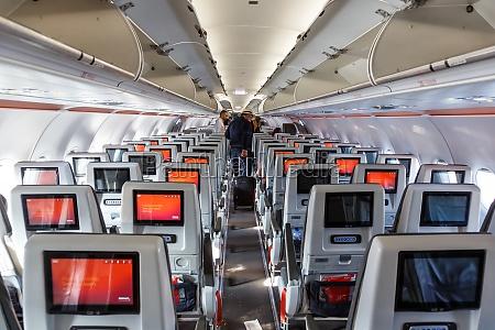 avianca airbus a321neo airplane cabin bogota