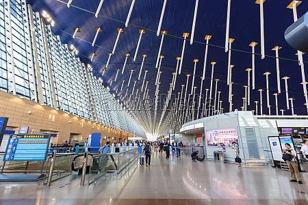 shanghai pudong international airport terminal 1