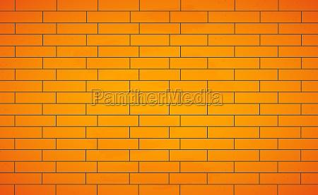realistic background wall new yellow brickwork