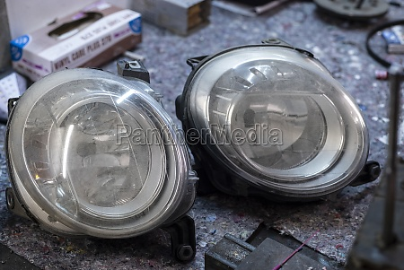 car lights used spare parts