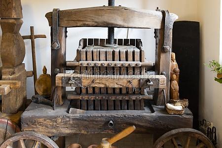 old wine press in moor hungary