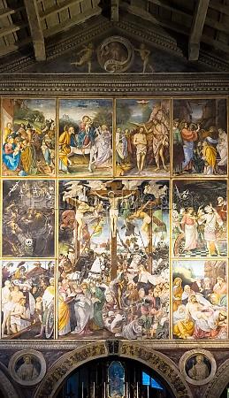 italian renaissance masterpiece parete gaudenziana gaudenziana