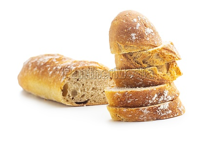 sliced baguette crispy fresh baguettes