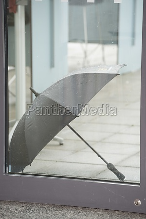 umbrella as protection against rain