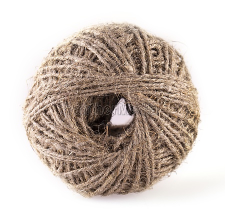 the, skein, of, jute, twine, isolated - 29315312