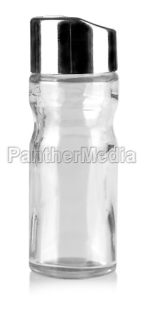 the glass bottle for storage of