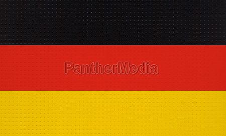metal german flag of germany