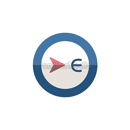 east, direction., flat, icon., isolated, weather - 29337657