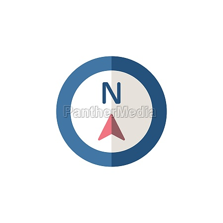 north, direction., flat, icon., isolated, weather - 29337664