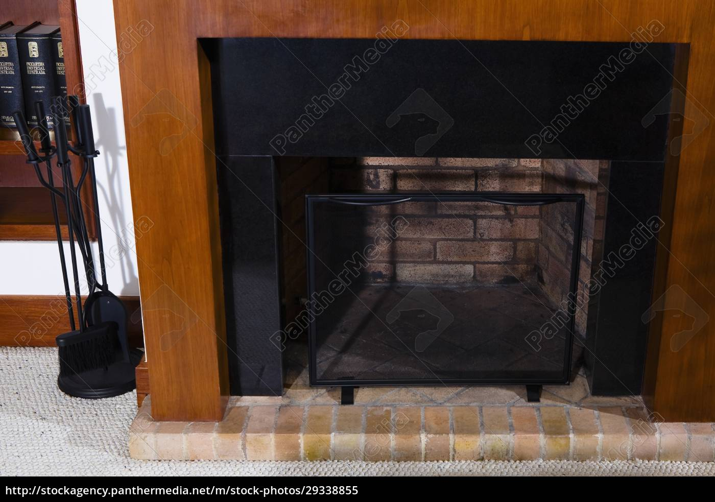 fireplace, in, a, living, room - 29338855