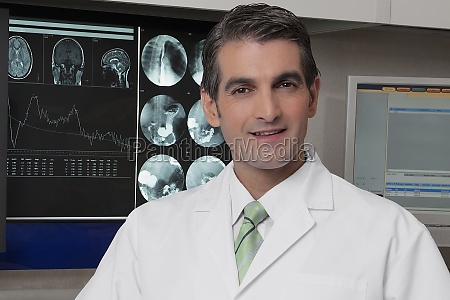 portrait of a doctor smiling