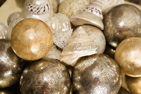decorative balls with shells