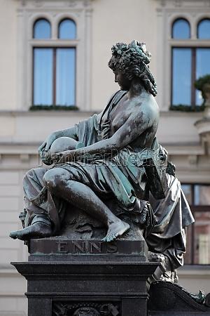 archduke johann fountain allegorical representation of