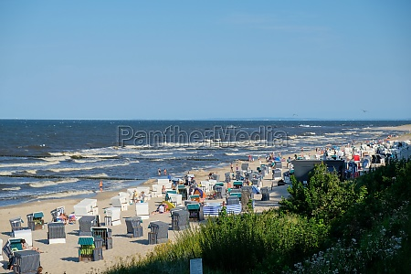 the beach at koserow on the
