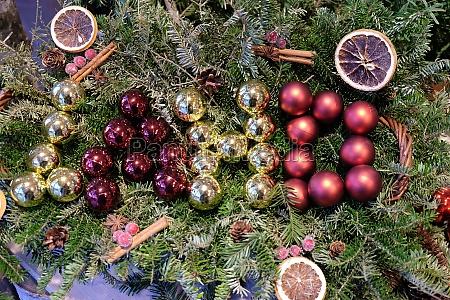 christmas decoration shop in hallstatt austria
