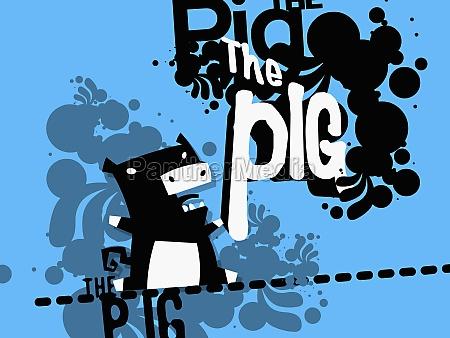 pig shouting