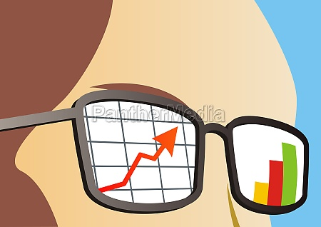reflection of a line graph and