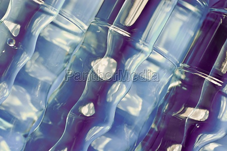 closeup of bottles