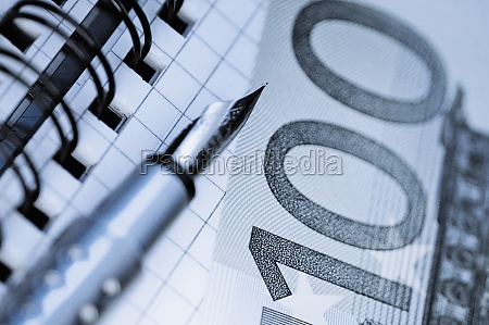 fountain pen and european union currency