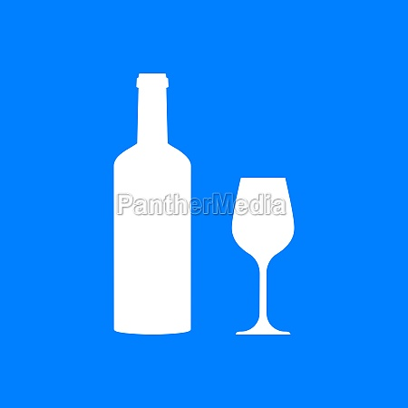 wine glass and background