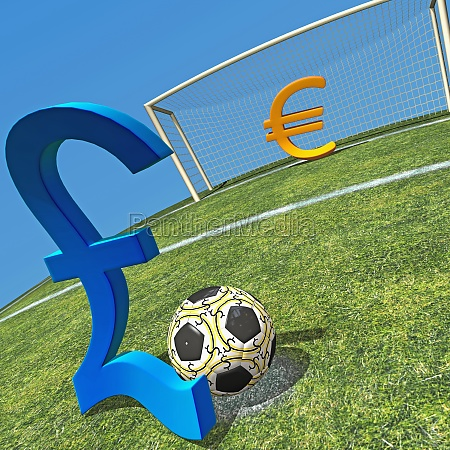 pound sign kicking a soccer ball