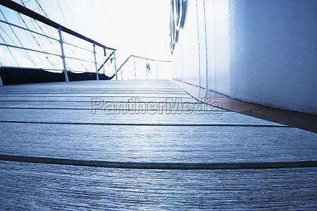 deck of a sailing ship