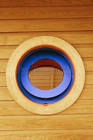 window of a boat