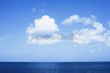 panoramic view of the sea