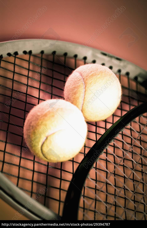 close_up, of, tennis, balls, and, tennis - 29394787