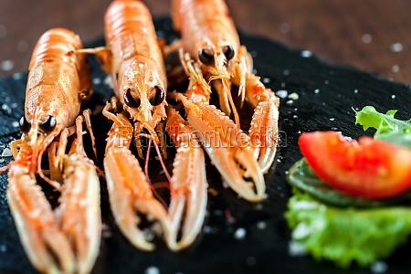 appetizing crawfish platter