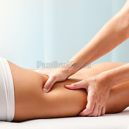 osteopathic hamstring massage