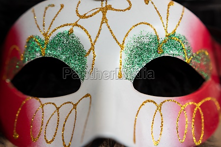 carnival mask 2 black background