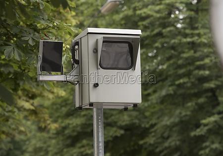 traffic radar for speed measurement