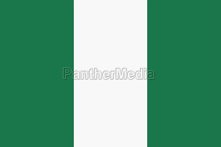 nigeria flag background illustration green white