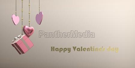 luxury valentines card