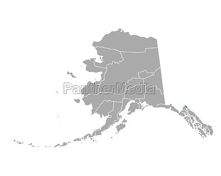 map of skagway in alaska