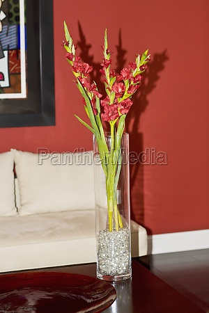 flower vase on a table