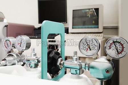 medical equipment in a laboratory
