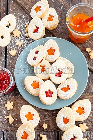jam filled cookies for easter