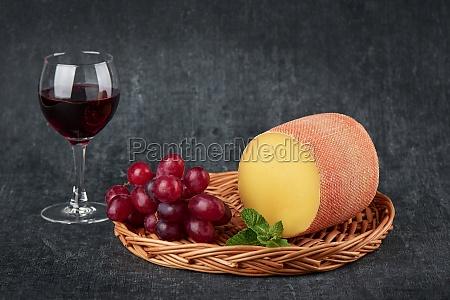 delicious tete de moine cheese in