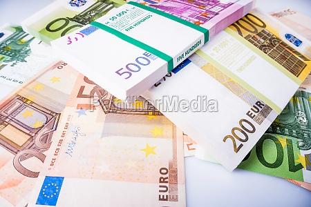 cash money euro bills euro currency