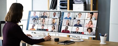 online virtual video conference webinar