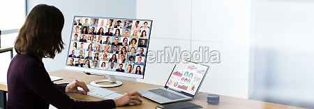 elearning business online video conference