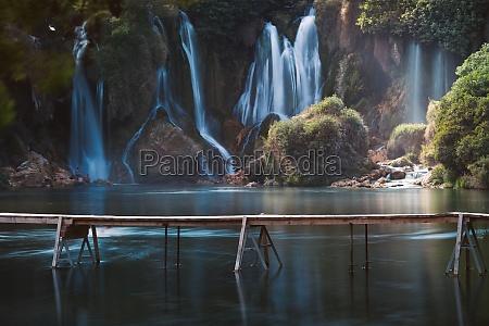 kravice waterfalls bosnia and herzegovina europe