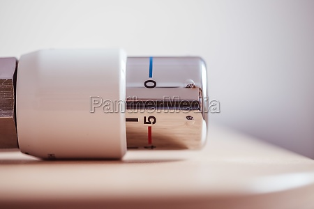 heating costs heat regulator on a