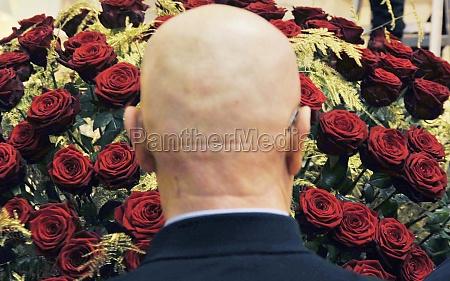 older man with bald head